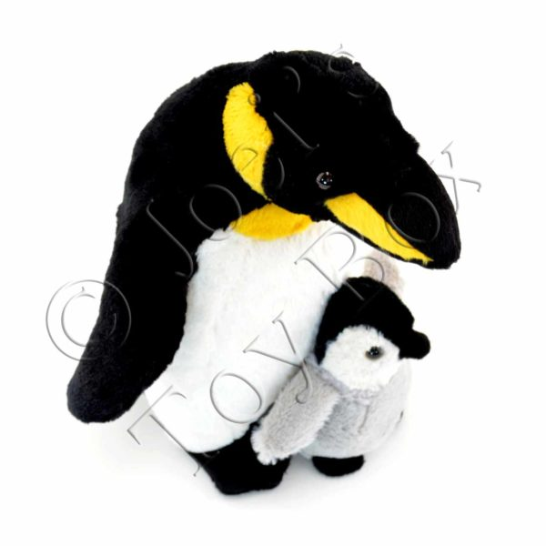 Webber-Penguin-with-Baby-#7650-01