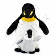 Webber-Penguin-with-Baby-#7650-02