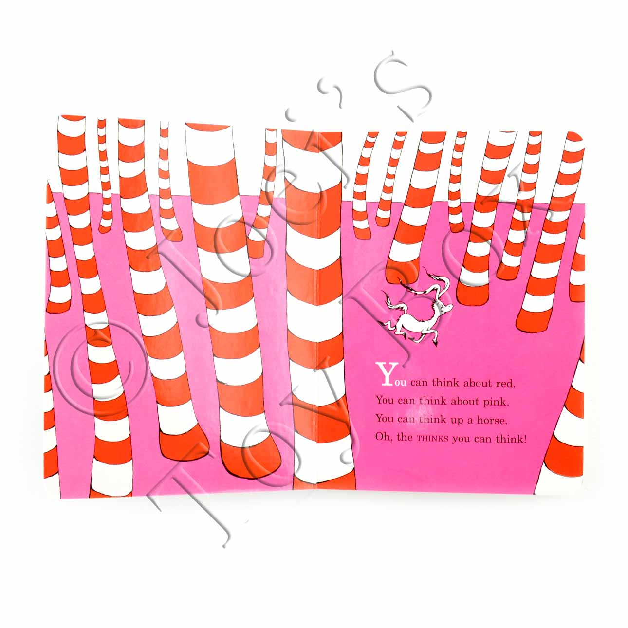 Dr Seuss Quotes Oh The Thinks You Can Think: Oh, The Thinks You Can Think! By Dr. Seuss Board Book